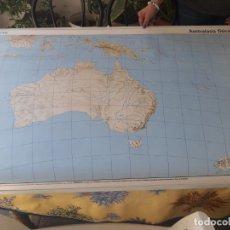Mapas contemporáneos: MAPA OCEANIA FISICA/POLÍTICA.. Lote 194611853