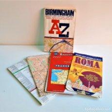 Mapas contemporáneos: LOTE DE MAPAS VARIOS BRITANICOS. Lote 194636056