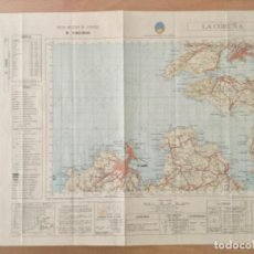 Mapas contemporáneos: MAPA TOPOGRÁFICO LA CORUÑA. SERVICIO GEOGRÁFICO DEL EJERCITO . Lote 194676625