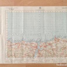 Mapas contemporáneos: MAPA TOPOGRÁFICO RIBADEO. SERVICIO GEOGRÁFICO DEL EJERCITO . Lote 194677178