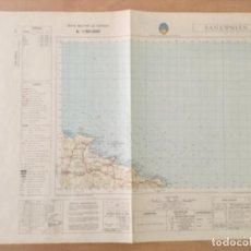 Mapas contemporáneos: MAPA TOPOGRAFICO SAN CIPRIAN. SERVICIO GEOGRÁFICO DEL EJERCITO . Lote 194677425