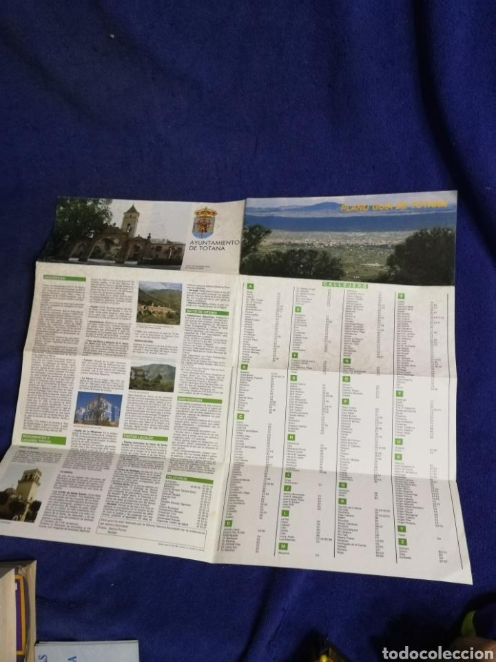 PLANO DE LOS 80. TOTANA (Coleccionismo - Mapas - Mapas actuales (desde siglo XIX))