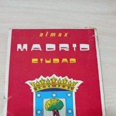 Mapas contemporáneos: MAPA MADRID PLANO GUÍA CALLEJERO ALMAX 1979 . Lote 194733211