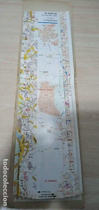 Mapas contemporáneos: Mapa Madrid Plano Guía Callejero Almax 1979 - Foto 4 - 194733211