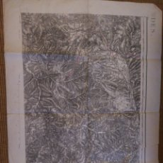 Mapas contemporáneos: MAPA DE PRADES. FRANCIA 1900.. Lote 194964558