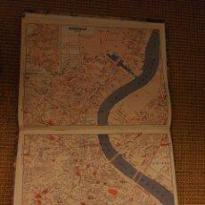 Mapas contemporáneos: CALENDARIOS Y MAPAS DE FRANCIA 1979.. Lote 194966157