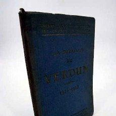 Mapas contemporáneos: GUIDES ILLUSTRÉS MICHELIN DES CHAMPS DE BATAILLE. LA BATAILLE DE VERDUN 1914 1918. EN FRANCÉS. 1919. Lote 195123427