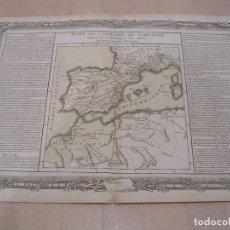 Mapas contemporáneos: MAPA HISTORIA DE CARTAGO. (S. XIX). Lote 195127808