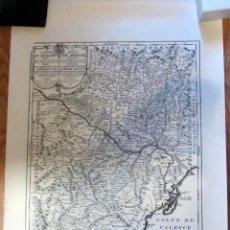 Mapas contemporáneos: MAPA REINO DE ARAGON 75 X 54 CM EDICION NUMERADA 1762 IMPRESO 1991. Lote 195137960
