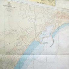Mapas contemporáneos: CARTA NAUTICA DEL PUERTO E MÁLAGA . Lote 195228842