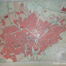 Mapas contemporáneos: JEREZ DE LA FRONTERA PLANO DE LA CIUDAD .28X20 .1854. Lote 195278735