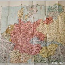 Mapas contemporáneos: MAPA GROSSDEUTSCHLAND. Lote 195411351