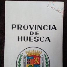 Mapas contemporáneos: MAPA / * PROVINCIA DE HUESCA *. AÑO 1975 (S. XX). MUY BUEN ESTADO. RARO.. Lote 196286078