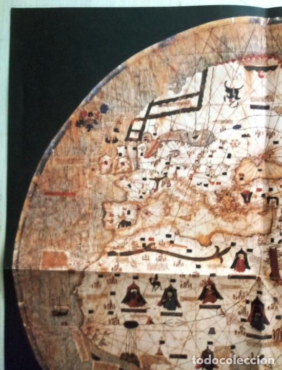 Mapas contemporáneos: MAPAMUNDI CATALÀ - ATRIBUIT A PERE ROSELL 1450 - DESCOBRIR CATALUNYA - GRUP 62 - Foto 2 - 198021642