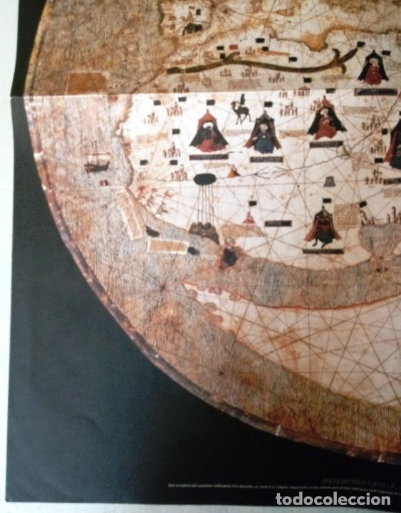 Mapas contemporáneos: MAPAMUNDI CATALÀ - ATRIBUIT A PERE ROSELL 1450 - DESCOBRIR CATALUNYA - GRUP 62 - Foto 3 - 198021642