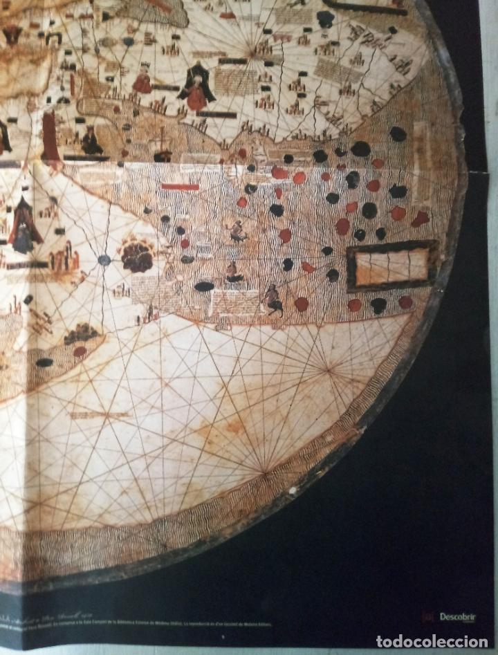 Mapas contemporáneos: MAPAMUNDI CATALÀ - ATRIBUIT A PERE ROSELL 1450 - DESCOBRIR CATALUNYA - GRUP 62 - Foto 4 - 198021642