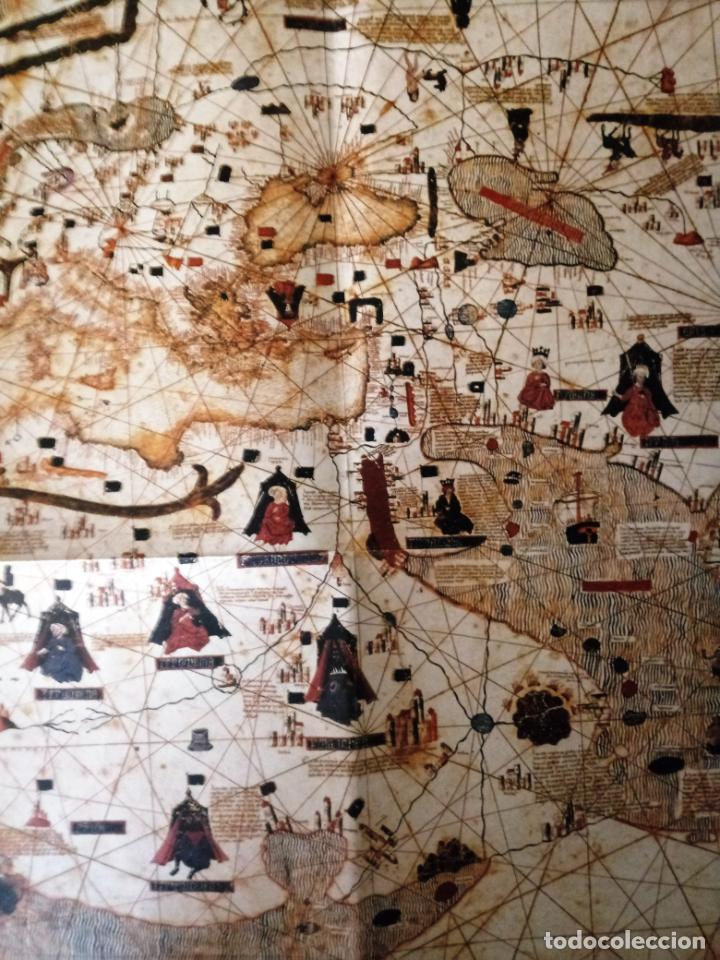Mapas contemporáneos: MAPAMUNDI CATALÀ - ATRIBUIT A PERE ROSELL 1450 - DESCOBRIR CATALUNYA - GRUP 62 - Foto 5 - 198021642