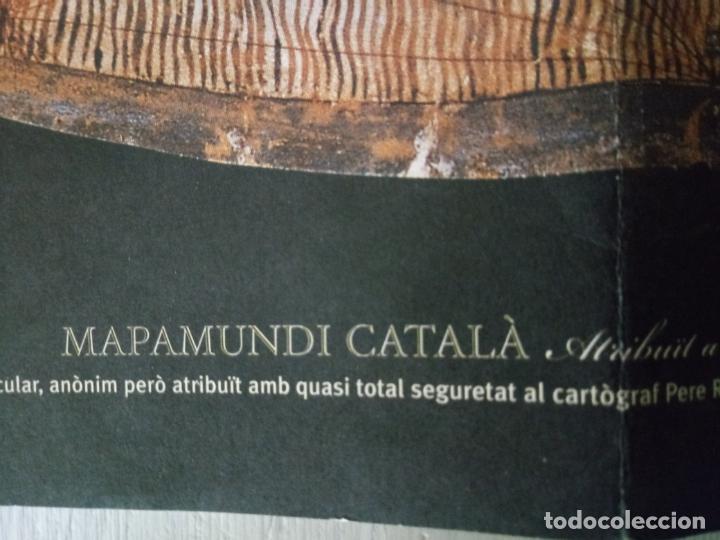 Mapas contemporáneos: MAPAMUNDI CATALÀ - ATRIBUIT A PERE ROSELL 1450 - DESCOBRIR CATALUNYA - GRUP 62 - Foto 9 - 198021642