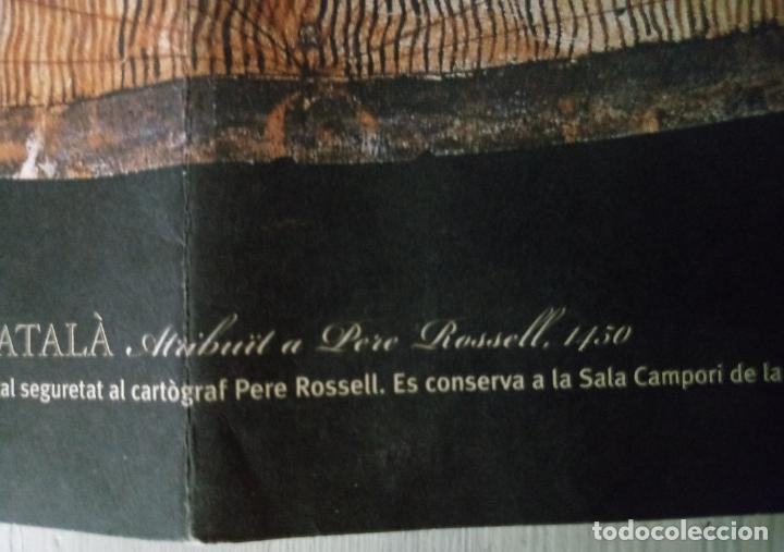 Mapas contemporáneos: MAPAMUNDI CATALÀ - ATRIBUIT A PERE ROSELL 1450 - DESCOBRIR CATALUNYA - GRUP 62 - Foto 10 - 198021642