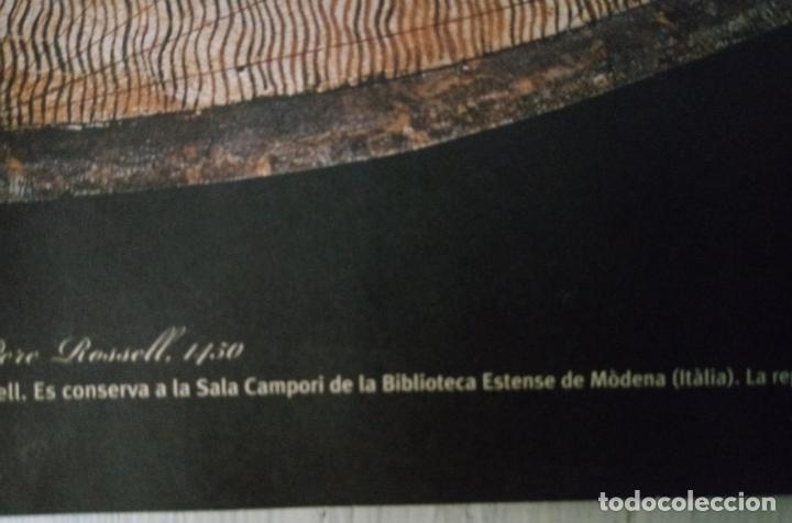 Mapas contemporáneos: MAPAMUNDI CATALÀ - ATRIBUIT A PERE ROSELL 1450 - DESCOBRIR CATALUNYA - GRUP 62 - Foto 11 - 198021642
