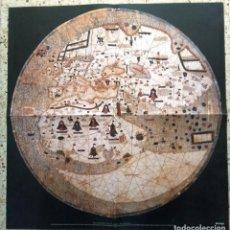 Mapas contemporáneos: MAPAMUNDI CATALÀ - ATRIBUIT A PERE ROSELL 1450 - DESCOBRIR CATALUNYA - GRUP 62. Lote 198021642