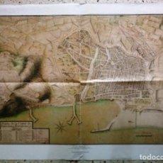 Mapas contemporáneos: MAPA PLANTA DE LA CIUTAT DE BARCELONA FORTALESAS I ATÁCOS - EDICIONS 62. Lote 198022772