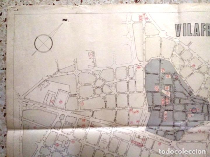 Mapas contemporáneos: MAPA DE VILAFRANCA DEL PENEDÈS - GERSA 1981 - Foto 2 - 198022977
