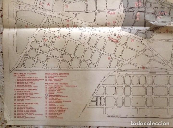 Mapas contemporáneos: MAPA DE VILAFRANCA DEL PENEDÈS - GERSA 1981 - Foto 5 - 198022977