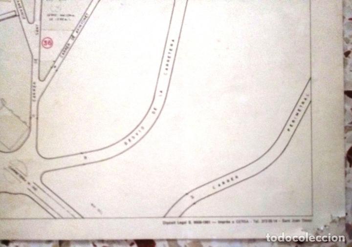 Mapas contemporáneos: MAPA DE VILAFRANCA DEL PENEDÈS - GERSA 1981 - Foto 7 - 198022977