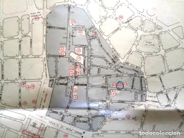 Mapas contemporáneos: MAPA DE VILAFRANCA DEL PENEDÈS - GERSA 1981 - Foto 10 - 198022977