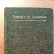 Mapas contemporáneos: 1922 ESTACIÓN AL SANTÍSIMO SACRAMENTO (EN VERSO ). Lote 198067072