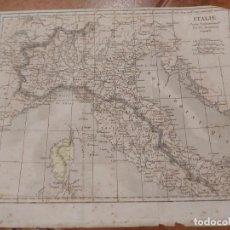 Mapas contemporáneos: MAPA ITALIA. Lote 198748316