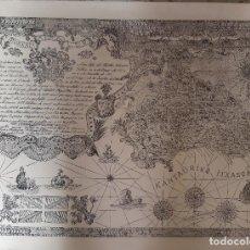Mapas contemporáneos: MAPA-LAMINA, EUZKADI-PAÍS VASCO, A SABINO ARANA, POR RAMÓN FERRER(FORMIGUERA), 50X65, VER FOTOS. Lote 199858531