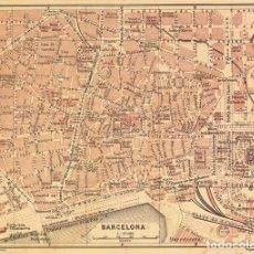 Mapas contemporáneos: BARCELONA. PLANO CIUDAD.. Lote 200015390