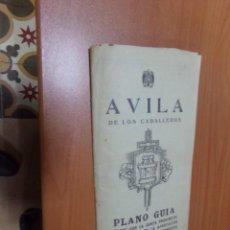 Mapas contemporáneos: PLANO DE ÁVILA ANTIGUO,. Lote 200793345