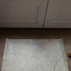 Mapas contemporáneos: MAPA MILITAR ITINERARIO DE ESPAÑA.HOJA 562.UBRIQUE(CÁDIZ) ANDALUCÍA 1918. Lote 202256457
