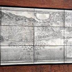 Mapas contemporáneos: PLAN BARCELONE - CERVERA - LLOBREGAT - DEDIÉ AU ROY 1698 - FACSIMIL NUMERADO CARTOGRÀFIC CATALUNYA. Lote 203278381