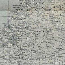 Mapas contemporáneos: MAPA DE HOLANDA - PAÍSES BAJOS - MAPA LITOGRÁFICO EN COLORES - 24 X 28.5 CM. - CIRCA 1930. Lote 203825256