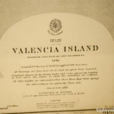 Mapas contemporáneos: CARTA NAUTICA ORIGINAL 1939, MAPA, VALENCIA ISLAND ,IRLANDA, VALENTIA ISLAND ,IRELAND. Lote 203904511