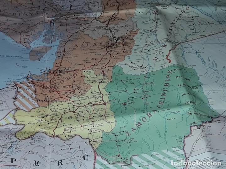 Mapas contemporáneos: Gran mapa Político República del Ecuador año 1990 - Foto 6 - 204174477