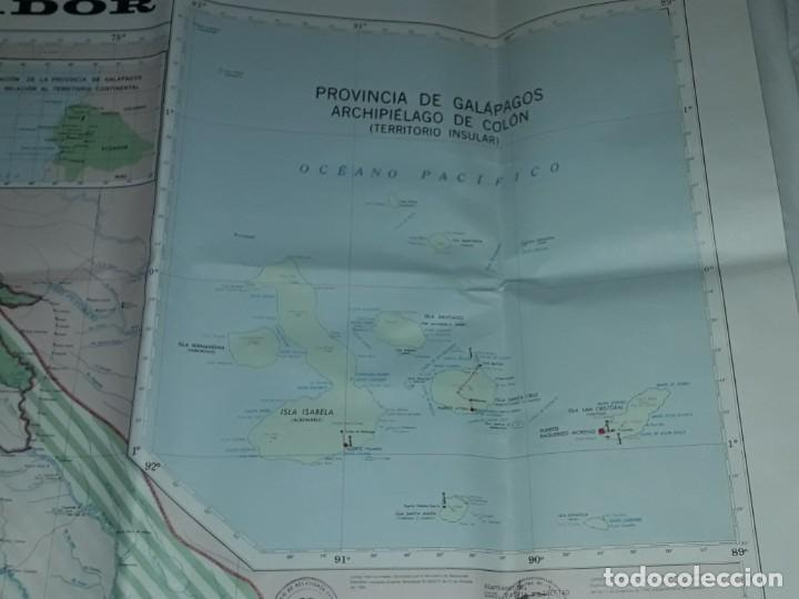 Mapas contemporáneos: Gran mapa Político República del Ecuador año 1990 - Foto 10 - 204174477
