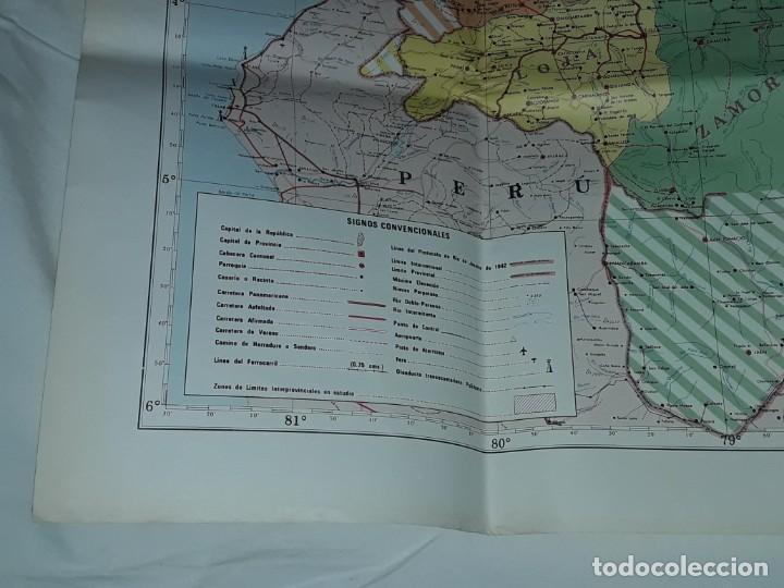 Mapas contemporáneos: Gran mapa Político República del Ecuador año 1990 - Foto 18 - 204174477