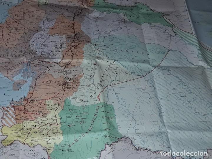 Mapas contemporáneos: Gran mapa Político República del Ecuador año 1990 - Foto 20 - 204174477