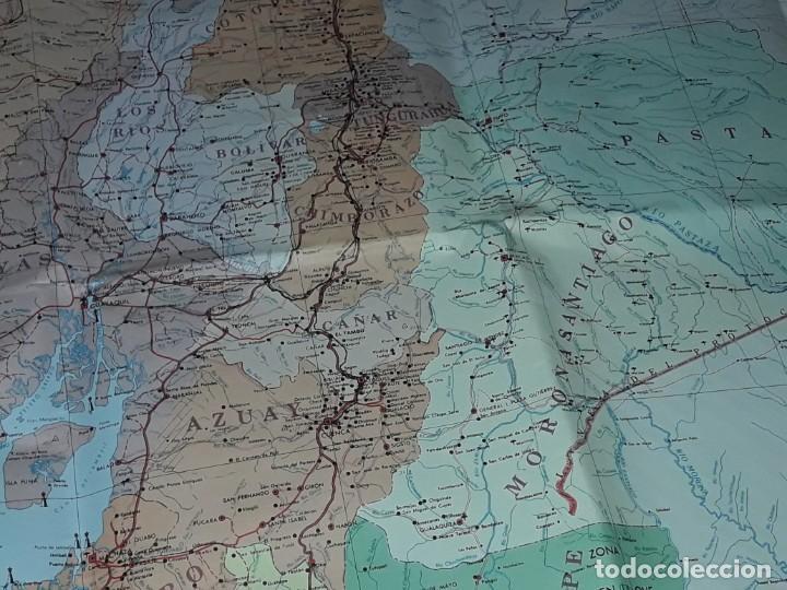 Mapas contemporáneos: Gran mapa Político República del Ecuador año 1990 - Foto 23 - 204174477