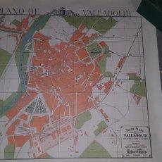 Mapas contemporáneos: NUEVO PLANO DE VALLADOLID 1985. Lote 204326403