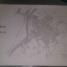 Mapas contemporáneos: PLANO DE VALLADOLID ESCALA 1/5000 TALLERES DEL SERVICIO GEOGRÁFICO DEL EJÉRCITO 1985. Lote 204327213