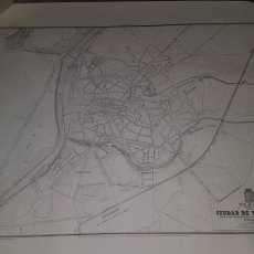 Mapas contemporáneos: PLANO DE LA CIUDAD DE VALLADOLID 1865 TALLERES DE SERVICIO GEOGRÁFICO DEL EJÉRCITO 1981. Lote 204327957