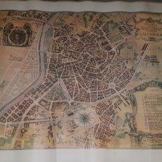 Mapas contemporáneos: PLANO DE VALLADOLID SERVICIO DEL EJÉRCITO 1985. Lote 204330070