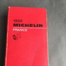 Mapas contemporâneos: GUIA MICHELIN FRANCE 1968. Lote 204483692