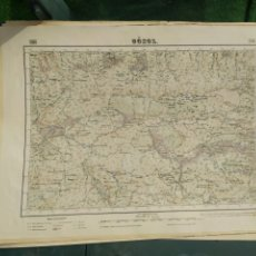 Mapas contemporáneos: MAPA GOSOL. Lote 204623598